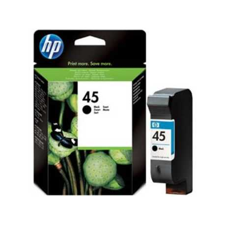 HP 45 YÜKSEK KAPASİTELİ SİYAH MÜREKKEP KARTUŞU ( 51645A