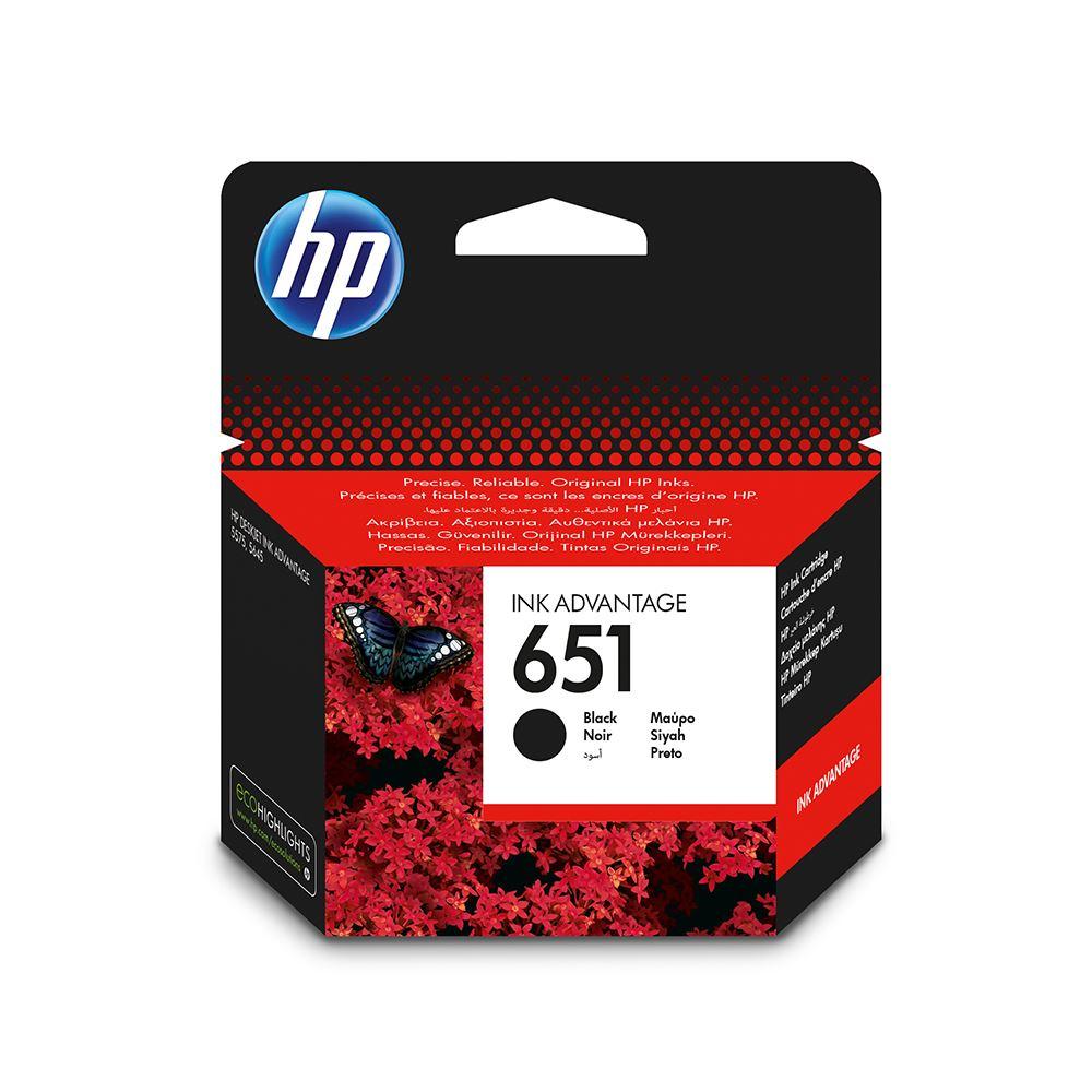 Hp 651 C2P10A Siyah Kartuş Deskjet 5645 / 5575