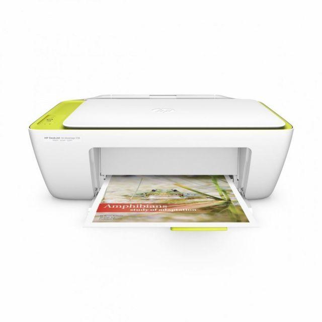HP DeskJet Ink Advantage 2136 Fotokopi + Tarayıcı + Renkli Yazıcı f5s33c Tam Dolu Kartuş + USB Kablo