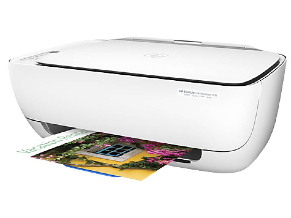 HP DeskJet Ink Advantage 3635 All-in-One Yazıcı F5S44C YAZ TAR FOT A4 F5S44C WIFI