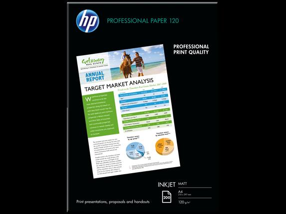 HP Professional Mat Inkjet Kağıdı, 200 yaprak/A4/210 x 297 mm (Q6593A)