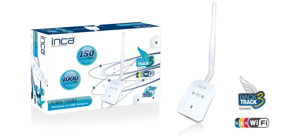 INCA 150MBPS 5DBI TEK ANTEN USB Wireless