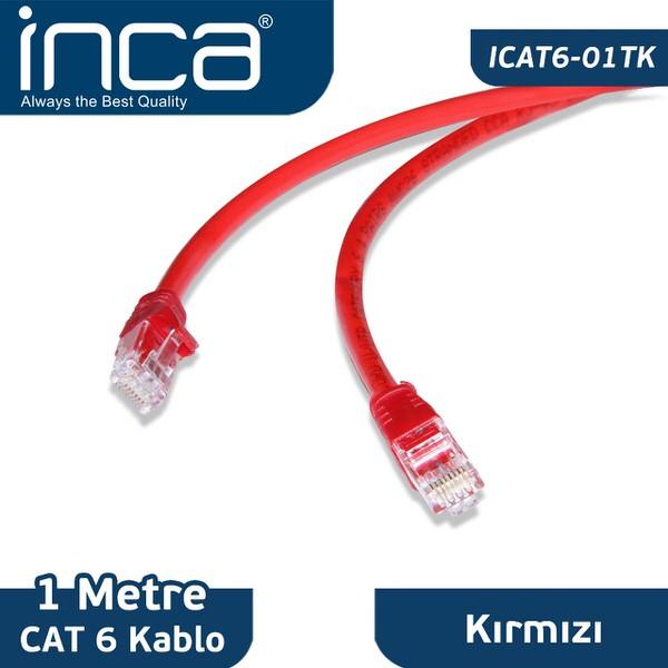 INCA CAT6-KABLO- (ICAT6-01T) TÜM RENKLER MEVCUTTUR