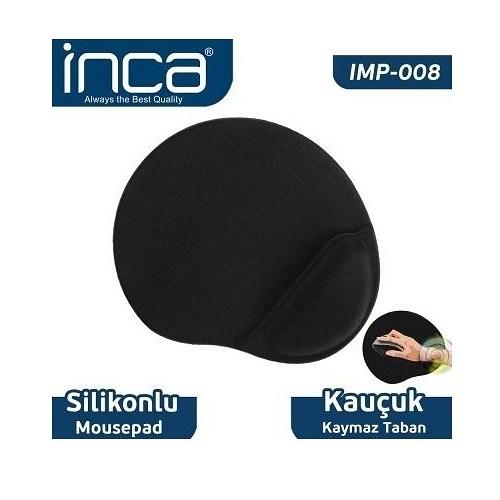 INCA IMP-008 Bilek Yastıklı Mousepad %100 kauçuk