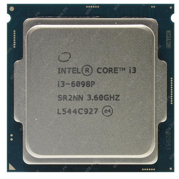 INTEL CI3 6098P 3.60GHZ 1151 3MB TREY FANSIZ