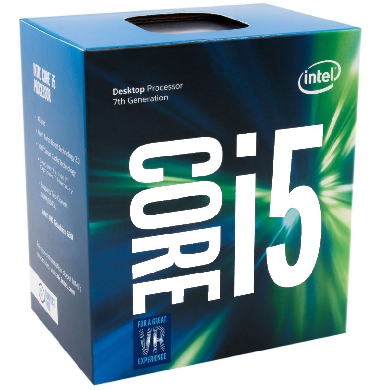 INTEL Core i5 7600K Soket 1151 3.8GHz 6MB Önbellek 14nm İşlemci