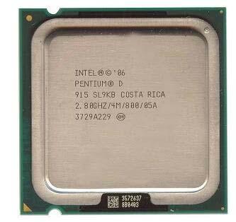 INTEL PENTIUM 915 2.8 GHz Dual-Core 4MB 775Pin Fansız Kutusuz İşlemci