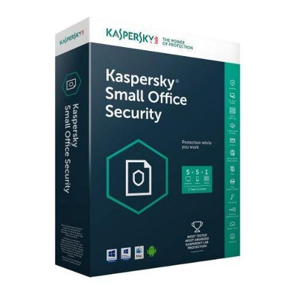 KASPERSKY SMAL OFFICE SEC  1YIL 1 Server+10PC+ 10Mobil
