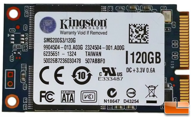 KINGSTON 120GB SSDNow mS200 SSD (SMS200S3/120G) HDD