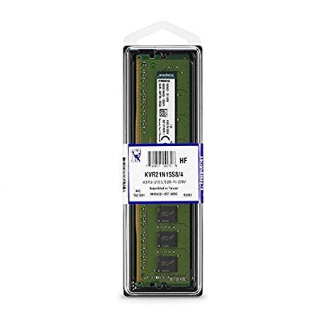 KINGSTON DDR4 4GB 2133MHz CL15 RAM Bellek - KVR21N15S8/4 ...