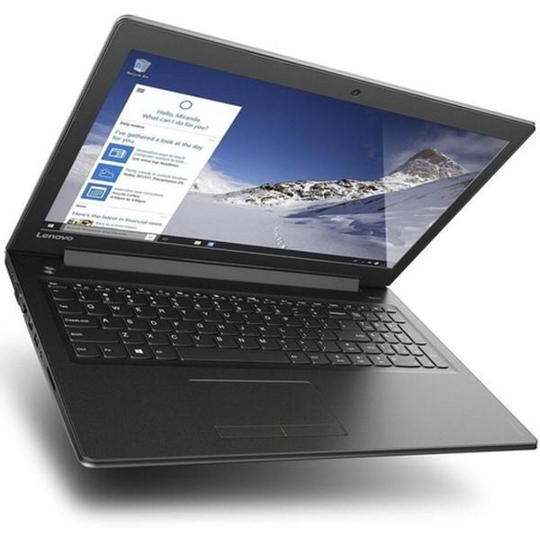 """LENOVO V510 80WQ024NTX I7-7500U 8GB 128GB SSD 1TB 2GB R5-M530 15.6"""" FREEDOS SİYAH NOTEBOOK"""