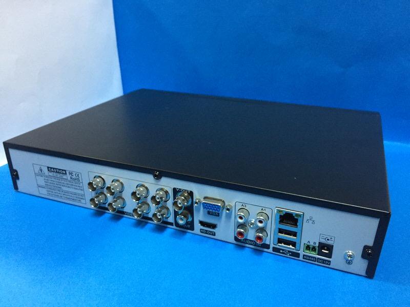 LIGHT LC-08 8 KANAL 4 SES 4MP 1080N XMEYE + V-OUT + HDMI