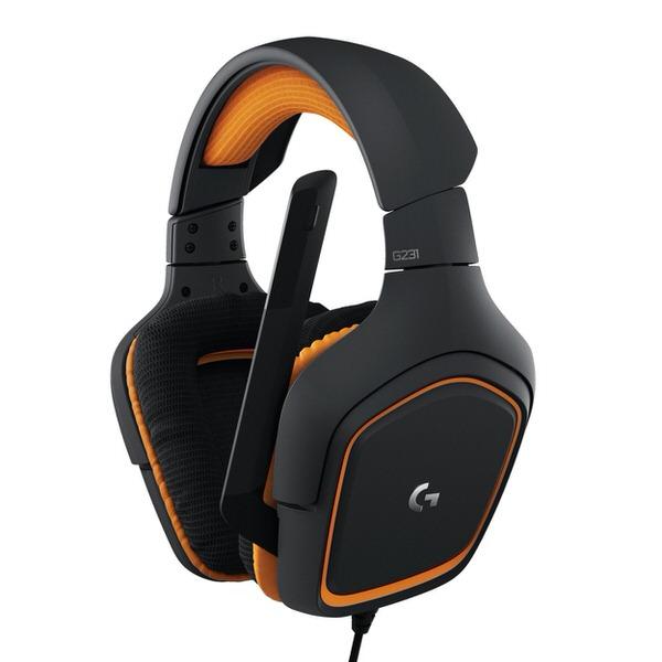 LOGITECH G231 Prodigy Kulaküstü Oyuncu Kulaklığı 981-000627
