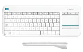 LOGITECH K400 Wireless Touch Beyaz Klavye (920-007150)