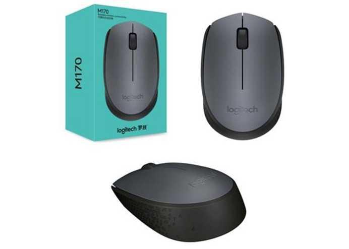 LOGITECH M170 Kablosuz Siyah Mouse 910-004642