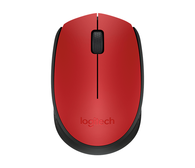 LOGITECH M171 910-004641 RED MOUSE