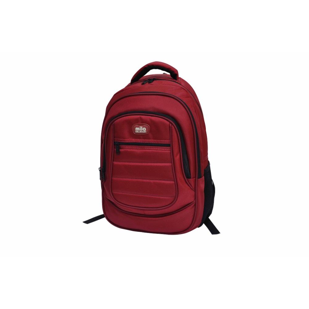 """MILA  BST402 15,6""""  Kırmızı Notebook Sırt Çantası"""