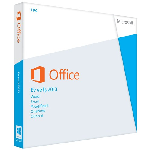 MS Office 2013 Home and Busıness TR Kutu T5D-01781 -