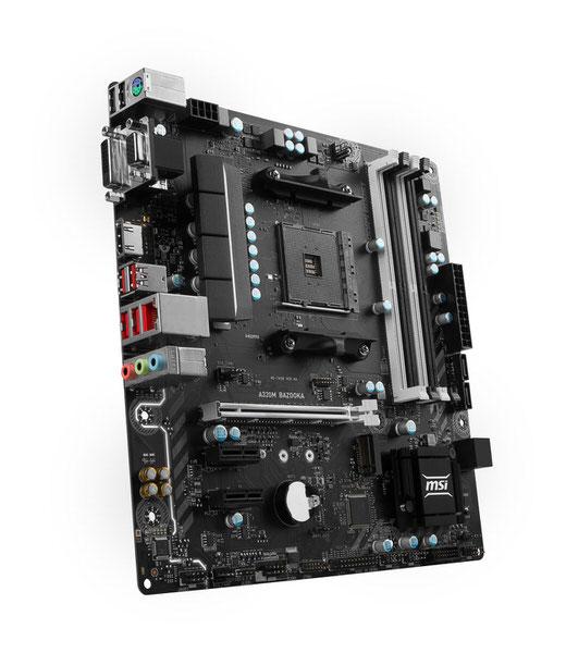 MSI A320M BAZOOKA AM4 AMD Ryzen™ DDR4 3200+MHz (O.C.) USB 3.1 Anakart