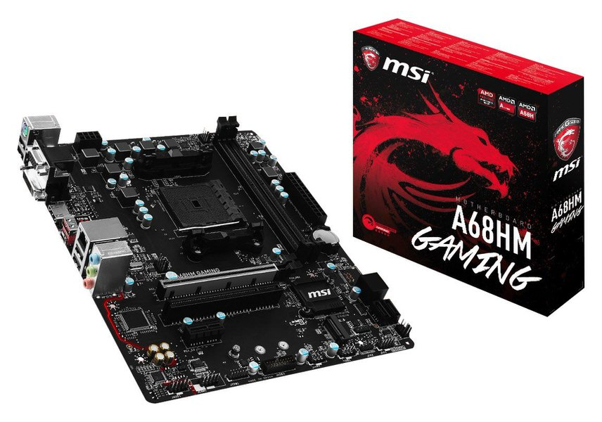 MSI A68HM GAMING DDR3 S+V+GL FM2+ (mATX)
