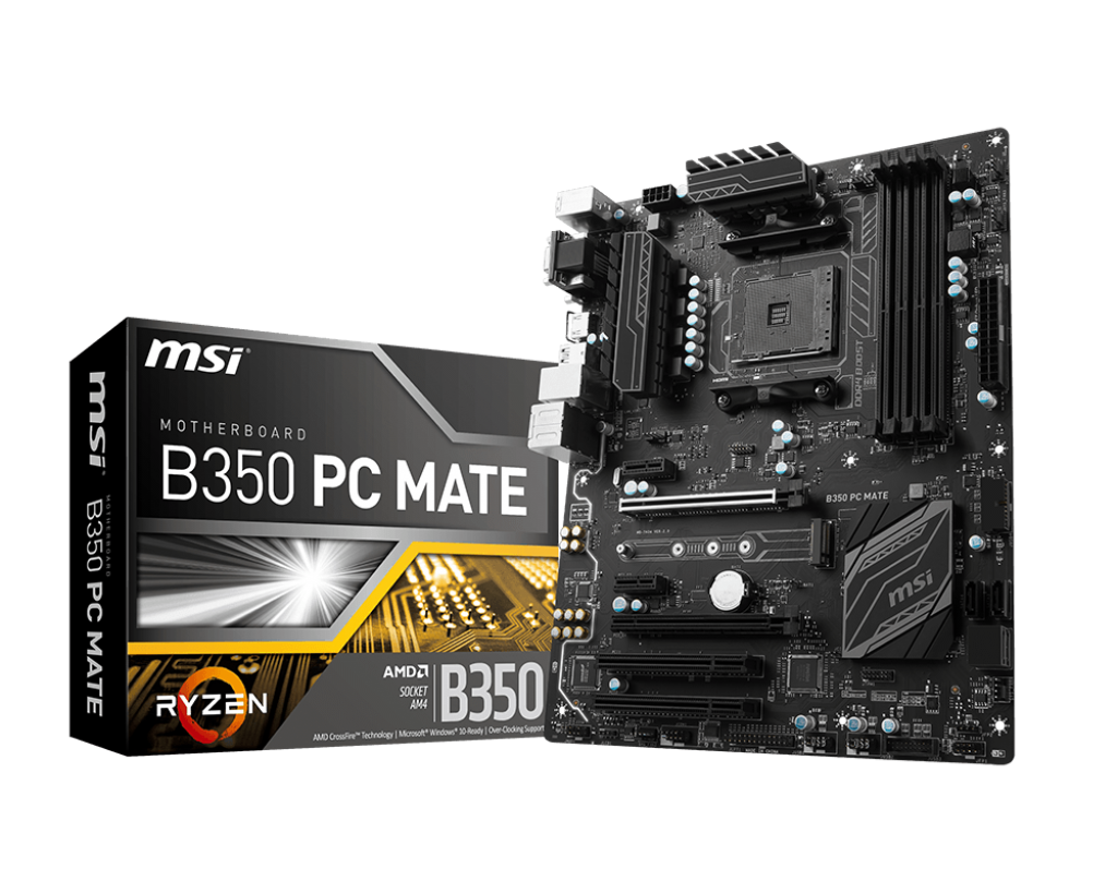 MSI B350 PC MATE ZYZEN DDR4 S+V+GL AM4