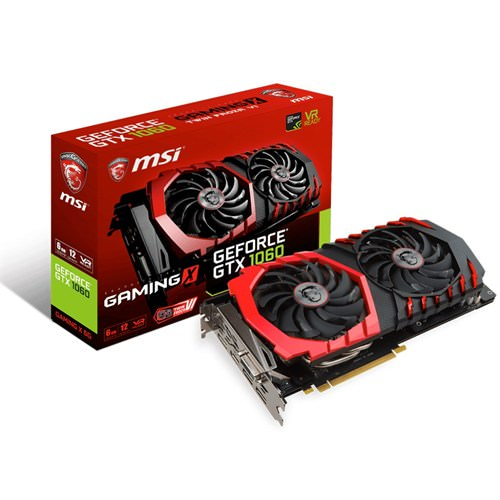 Msi GeForce GTX 1060 Gaming X 6 GB Ekran Kartı 192bit ddr5