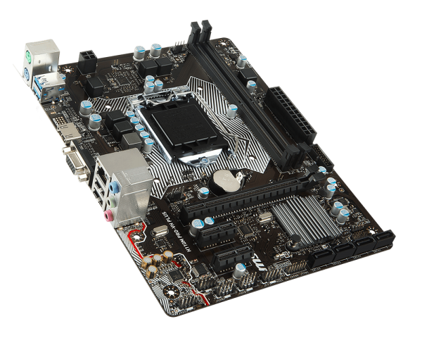 MSI H110M PRO-VH Intel H110 Soket 1151 DDR4 2133Mhz VGA&HDMI Anakart