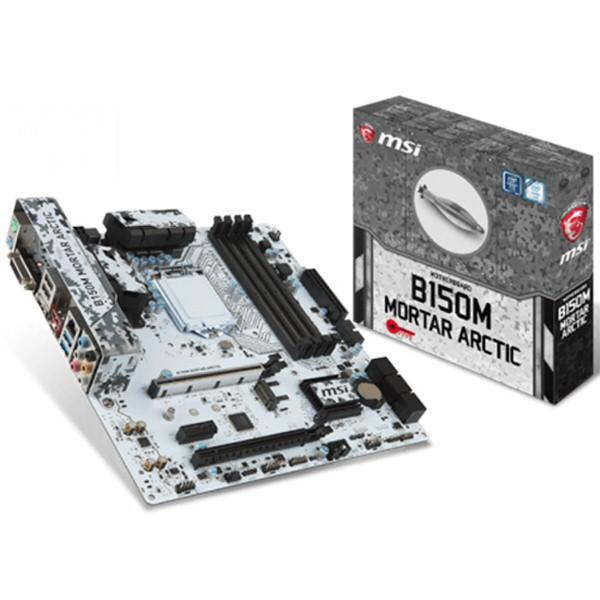 MSI INTEL B150M MORTAR ARCTIC B150 DDR4 2133 VGA GLAN 1151P USB 3.1