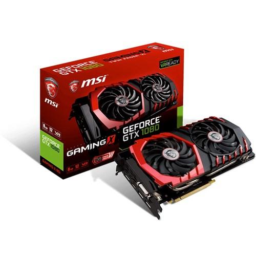 MSI Nvidia 8GB GTX1080 GAMING X 8G GDDR5X 256 Bit HDMI DVI-D 3xDP
