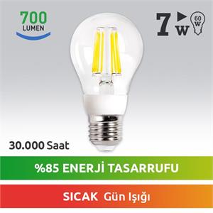 NEXT Led Şarjli 7w E27 Led Ampul