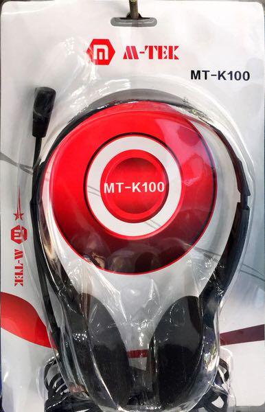 OEM - M-TEK MT-K100 MİKROFONLU KULAKLIK