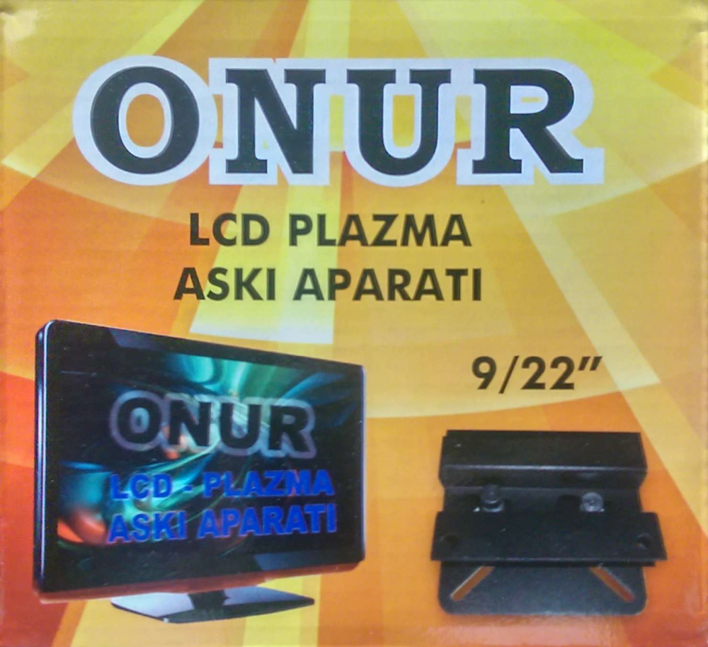 "ONUR PRJ-ONUR LCD ASKI APARATI (9-22"")    ( Eyl.22)"
