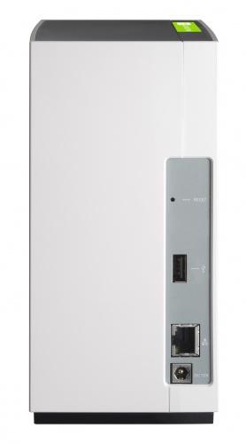 """QNAP TS-228 NAS DEPOLAMA ÜNİTESİ  (2x 3.5"""" veya 2.5"""" Harddisk Kapasiteli max (2x8TB Destekli)"""