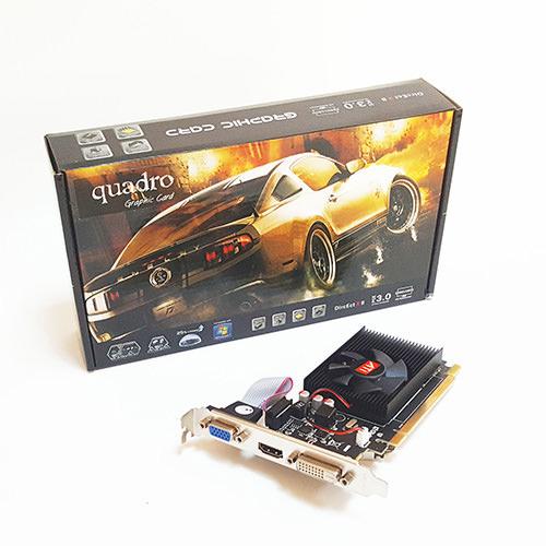 QUADRO 1GB R5 230 1GD3 Silent DDR3 64 Bit ATI