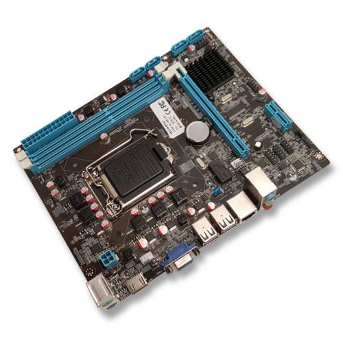 QUADRO H55-V5H DDR3 O/B Vga Lan HDMI 4x Sata2 16X PCIe 1156p uATX
