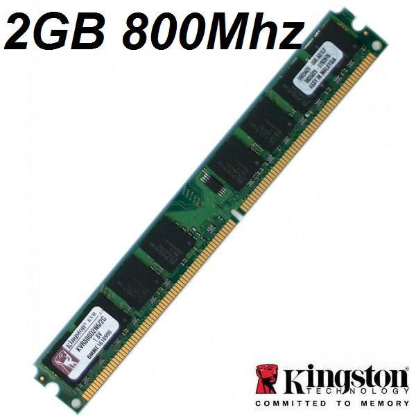 KINGSTON 2GB 800MHZ DDR2 BULK PC RAM