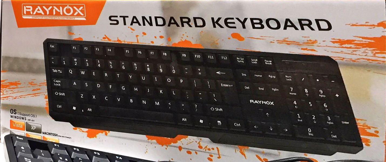RAYNOX KLAVYE RX-K03 KABLOLU USB