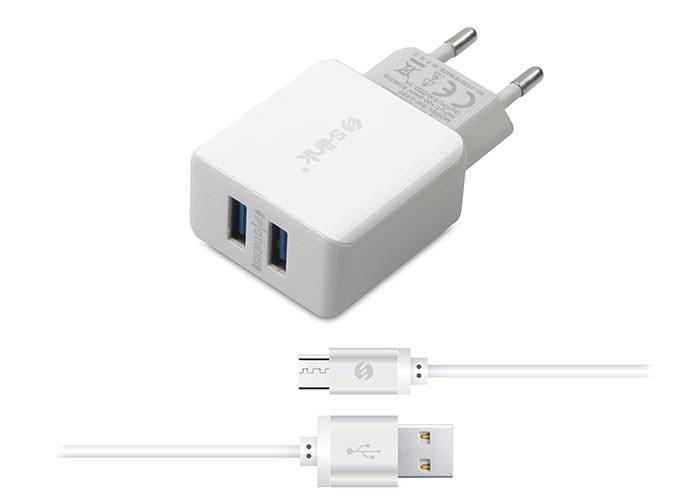 S-LINK Swapp SW-C520 Micro Usb 2.1A Kablo ve