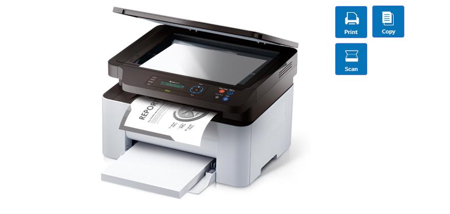 Samsung SL-M2070 Fotokopi + Tarayıcı + Laser Yazıcı