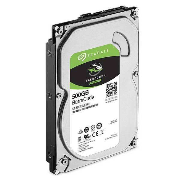 SEAGATE 500GB BarraCuda SATA 6Gb/s 32MB Cache 3.5-Inch Internal Hard Drive (ST500DM009)