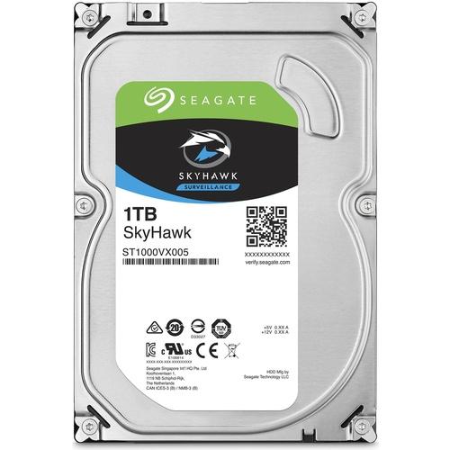 SEAGATE SkyHawk 3.5 1TB 5900Rpm 64Mb ST1000VX005  7/24 güvenlik Hardisk