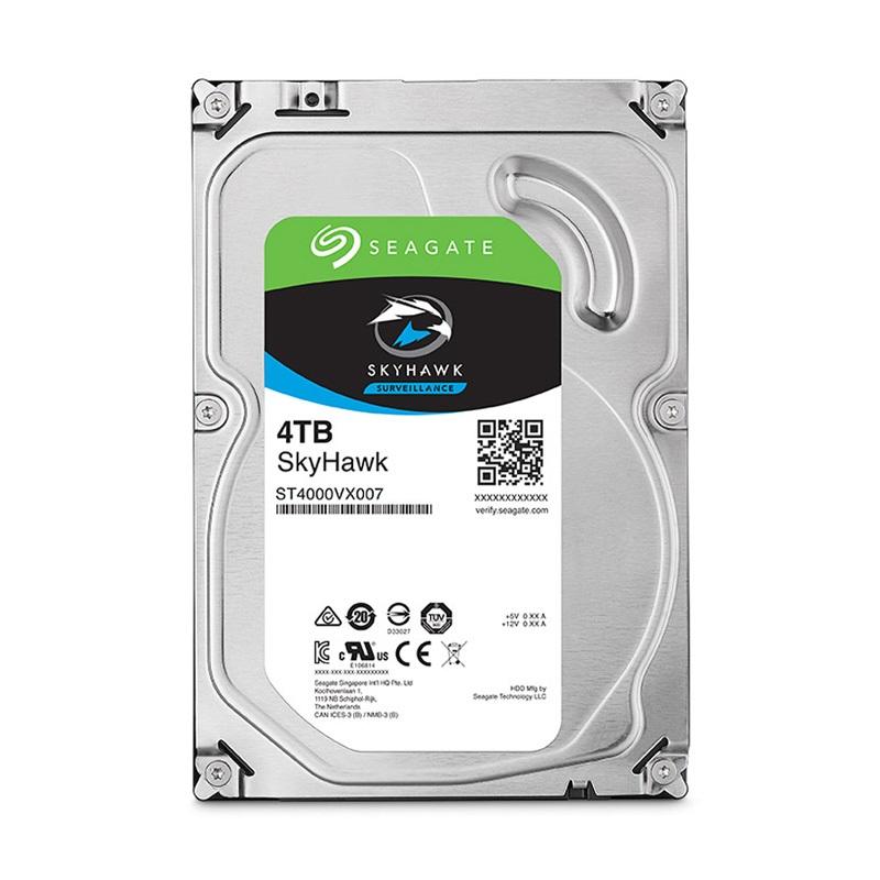 "SEAGATE SkyHawk Surveillance HardDisk ST4000VX007 3.5"" SATA 4,000 GB - HardDisk - 5,900 rpm - Dahili"