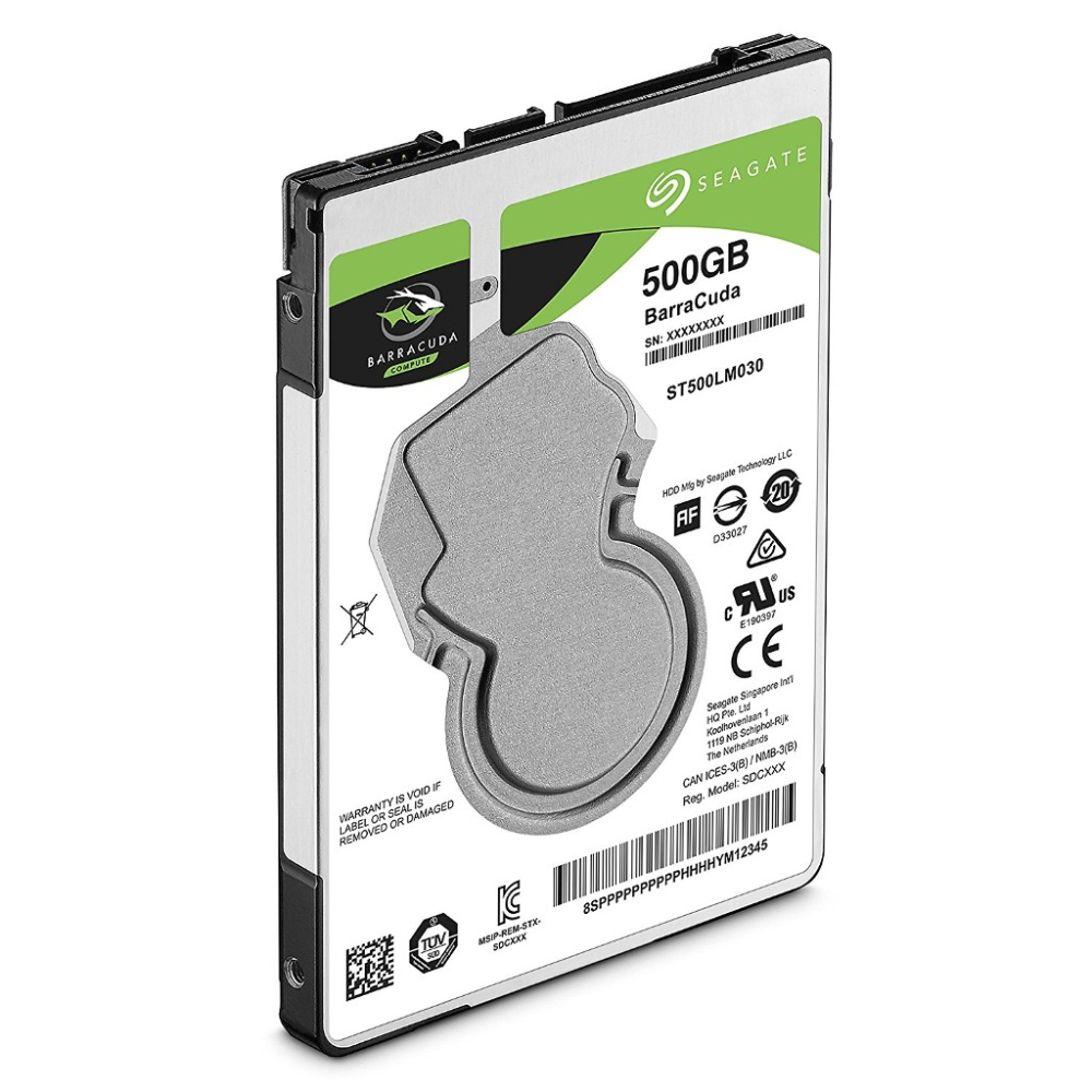 SEAGATE ST500LM030 500GB Barracuda 2.5 500GB SATA 3.0 128MB 130MB/S 5400RPM 7mm Notebook Disk