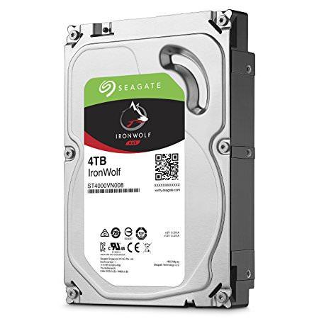 SEAGATEe IronWolf 4TB 3.5inc NAS Sabit Diski (ST4000VN008) - 5900 Rpm Sata3 64Mb HDD