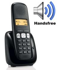GIGASET A250 Telsiz (Dect) Telefon Siyah (a250-black)