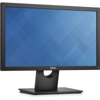 """Dell E1916H 18.5"""" 5ms VGA+DP  Çöz: 1366x768 Led Monitör Display vga"""