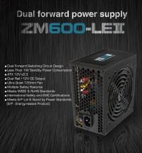 ZALMAN ZM600-LE II 600W ATX POWER SUPPLY 12CM POWER SUPPLY