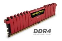 CORSAIR 2x8 16GB 3200MHz DDR4 LPX RED C16R CMK16GX4M2B3200C16R