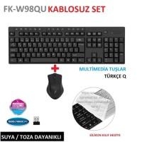 FRISBY FK-W98QU KABLOUSUZ KLAVYE SET