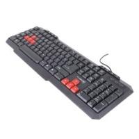 KLAVYE TURBOX TR-X3 RED / BLACK KABLOLU MULTİMEDYA Q TR